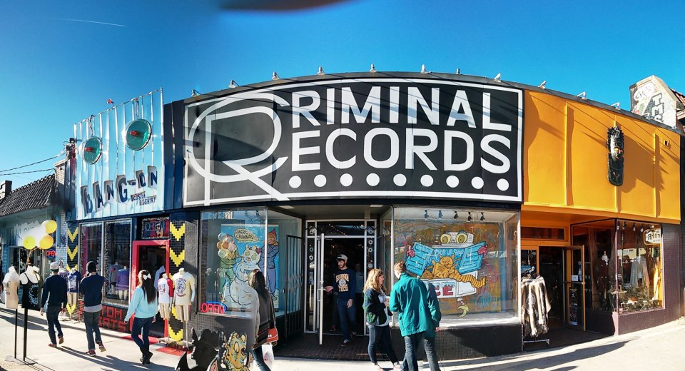 criminal records vinyl cds dvds comics toys books mags and more in little five points. Black Bedroom Furniture Sets. Home Design Ideas